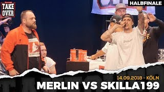 Merlin vs. Skilla199 Takeover Freestyle Contest | Köln 14.09.18 (HF 1/2)
