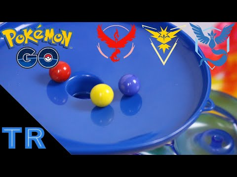 Pokémon GO Marble Race: Which Team is Best? - Toy Racing