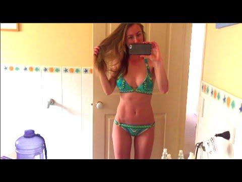 I'm 100 Percent Pure + Bikini + Food video
