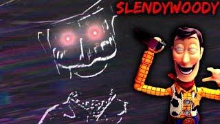 CHILDHOOD DESTROYED in 3 - 2 - 1! - SLENDYWOODY [Toy Story & Slender Crossover Horror Game]