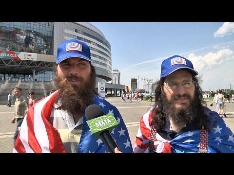 Болельщики сборной США о чемпионате мира по хоккею в Минске