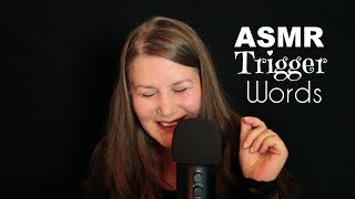 ASMR ★ Trigger Words in Deutsch & English