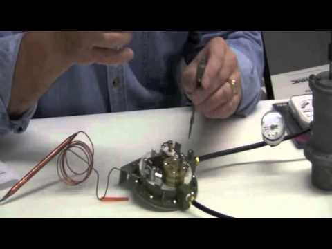 Calibrating a Johnson Controls Pneumatic Thermostat
