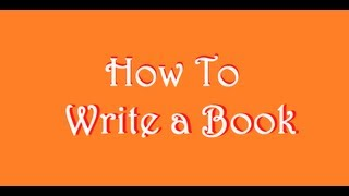 How to Write a Book: Day 6 Don