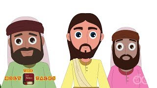 Beatitudes - Sermon On The Mount | Stories Of Jesus | Bible Story for Kids| Holy Tales Bible Stories