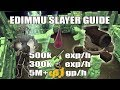 [Runescape 3] Edimmu Slayer Guide 2017 w/ Cannon | 500k Melee exp/h | 300k Slayer exp/h | 5M+ GP/H