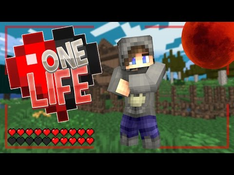 BLOOD MOON?! - One Life Minecraft SMP - Ep.5