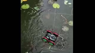 Xe điều khiển từ xa nhào lộn có thể đi dưới nước