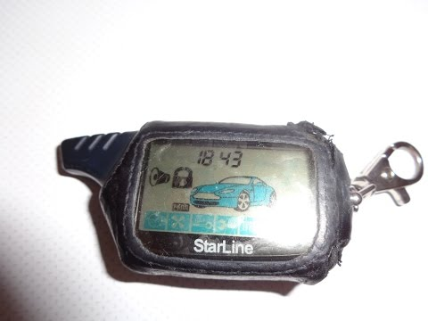 автозапуск с брелка starline инструкция