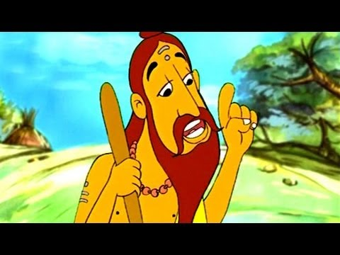 Moral Stories - The Sadhu And The Snake - English Animation 9