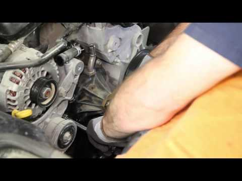 How to Install a Water Pump - Chevy 4.3L WP-9020 AW5077