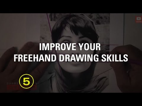 Improve Your Freehand Drawing Skills With This Fun Trick (Sketching #2)