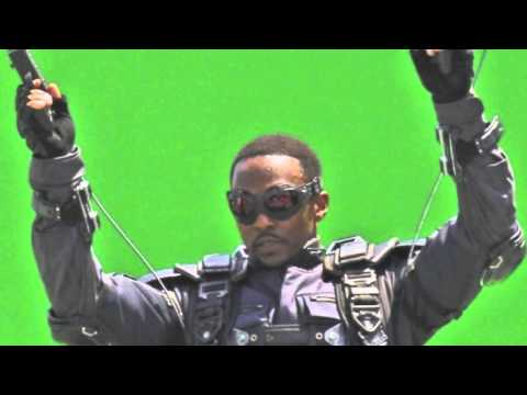 First Look At Anthony Mackie As The Falcon In Captain America: The Winter Soldier Movie!