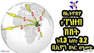 ኢትዮጵያ የገንዘብ ሽሽት ከ1.3 እስከ 3.2 ቢሊዮን ዶላር በዓመት ይደርሳል Money flight in Ethiopia, Africa- VOA