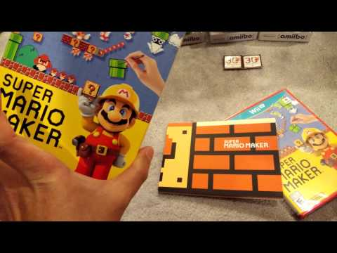 mario maker/Wave 6 amiibos