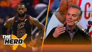 Colin Cowherd and Nick Wright react to LeBron's 14th triple-double | THE HERD