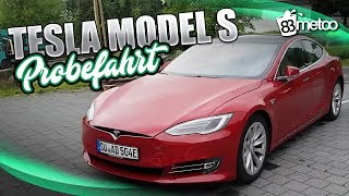Tesla Model S 75D Probefahrt Test Deutsch   Tesla Model S Autopilot für Autonomes Fahren   83metoo