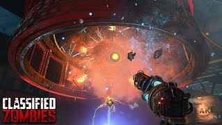 BLACK OPS 4 ZOMBIES - CLASSIFIED MAIN EASTER EGG HUNT GAMEPLAY (Black Ops 4 Zombies)