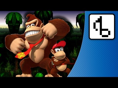 Donkey Kong Country WITH LYRICS - brentalfloss