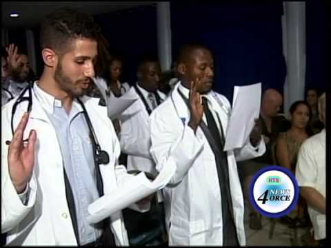IAU White Coat Ceremony, Fall 2014 TV News Report