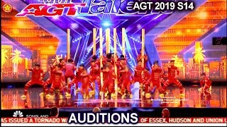 V.Unbeatable Dance Group from India GETS STANDING OVATION | America's Got Talent 2019 Audition