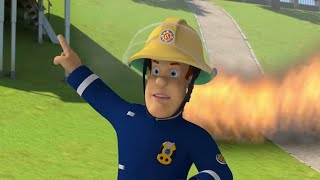 Fireman Sam US ⭐️Fire on the Soccer Field! | Best Rescue Compilation 🔥Kids Movie