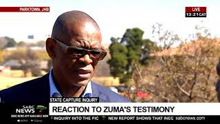 ANC's Magashule reacts to Zuma's State Capture testimony