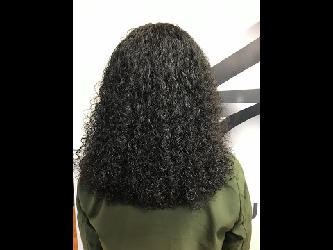 The Gina Curl -- NATURAL CURLY TEXTURE HAIR