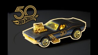 Hot Wheels Rodger Dodger - 50th Anniversary Black and Gold Series (2018) 3/6