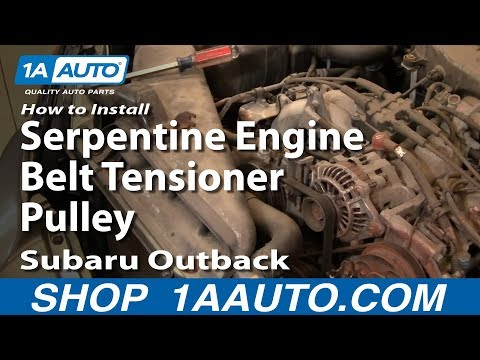 How To Install Replace Serpentine Engin