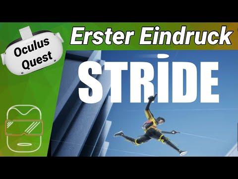 Oculus Quest 2 [deutsch] Stride VR: Erster Eindruck   Oculus Quest 2 Games deutsch VR Games 2021