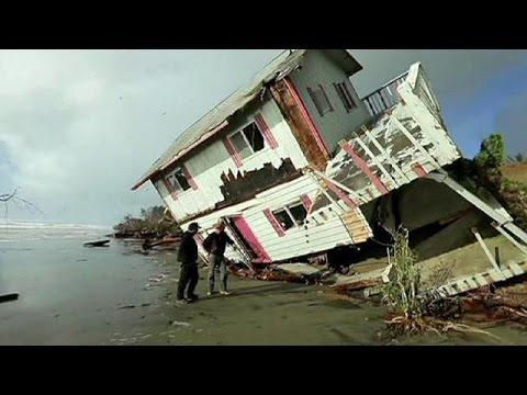 Pazifiksturm an US-Küste: Tornado und Erdrutsche in Südkalifornien