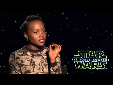 Star Wars: The Force Awakens: Lupita Nyong'o Official Movie Interview