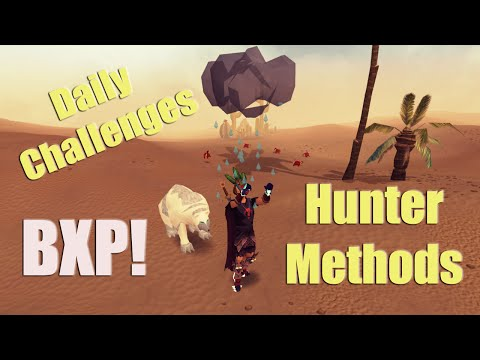 "RuneScape: BXP Weekend Plans (2014) Hunter Guide – ""Booty Drop!"""