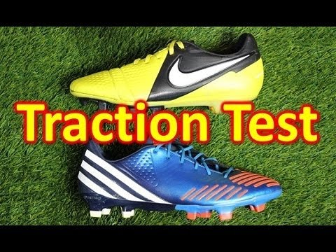 Nike CTR360 Maestri 3 VS Adidas Predator LZ - Traction Test