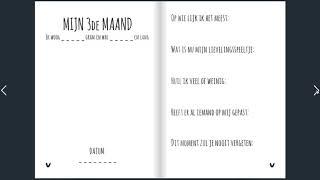 Mijn eerste jaar | invulboek | Koosje Design