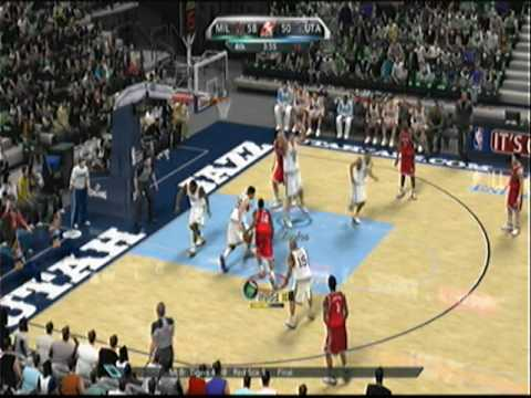 NBA 2k10 - Michael Redd Drops 52 on Jazz - 2nd Half Video