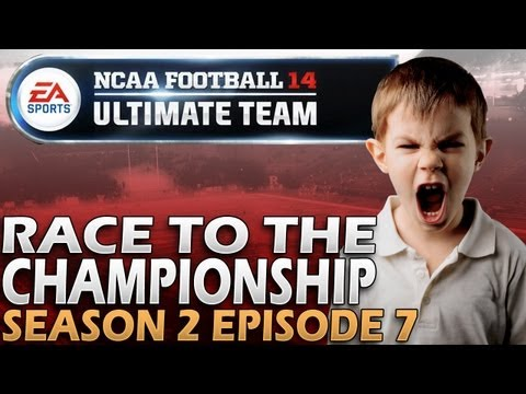 NCAA 14 Ultimate Team | Not As Good As Make-up Sex | Race To...