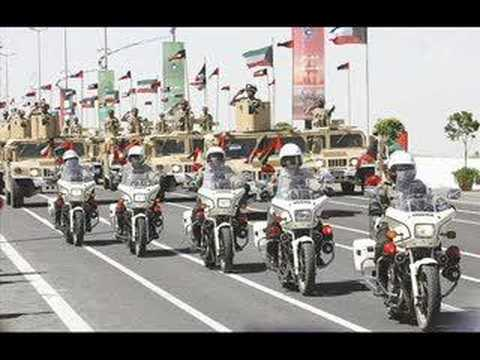 kuwait armed forces (army-police-national guard) show