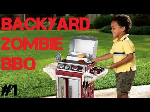 Custom Zombies - Backyard Zombie Barbecue - More Perks, More Guns, More Carnage! (Part 1)