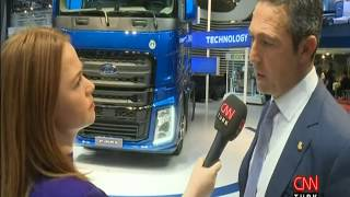 Ali Ko Ford Otosann yeni yerli kamyonu FMAXi anlat
