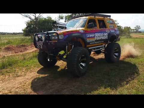LA Sport Monster Truck in Slow Motion Action....