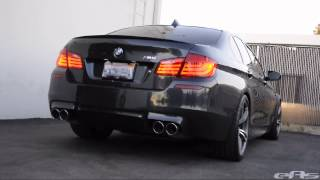 Akrapovic Evolution Titanium Exhaust System Sound Clips - BMW F10 M5