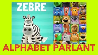 ALPHABET PARLANT - by Hey-Clay.com App Demo Preview (Talking ABC French version)