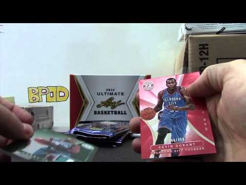 FOOOM's 2012 Ultimate & Totally Certified Basketball 2 Box Break