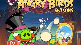 Angry Birds Seasons - Abra Ca Bacon Gameplay - All Levels