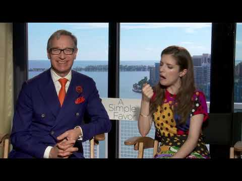 Interview With 'A Simple Favor's' Anna Kendrick And Director Paul Feig