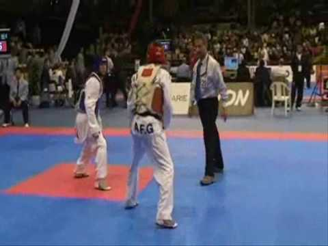 Afghan vs USA Taekwondo Champion - Ziaullah Aimal -Copenhagen 2009