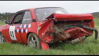 Opel Ascona Rallying! Crashes & Action