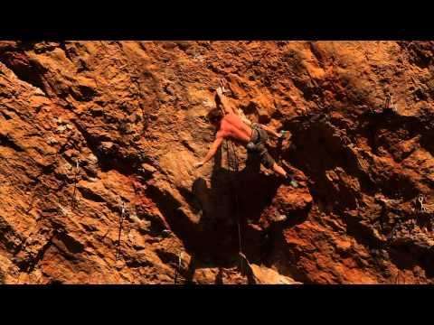 Magnus Midtboe climbs
